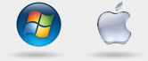 Windows XP/Vista/7, Mac OS X 10.6 or higher