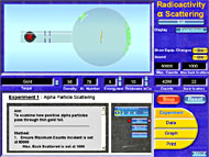 Radioactivity: Alpha Particle Scattering